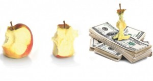 Apple Core and Dollars